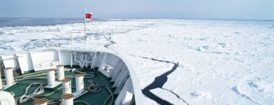 Drift Ice Spots and Drift Ice Cruise