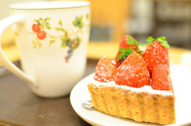 草莓撻 -Fruits Cake Factory在札幌-