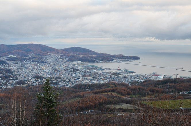 Kenashiyama Viewpoint in Otaru