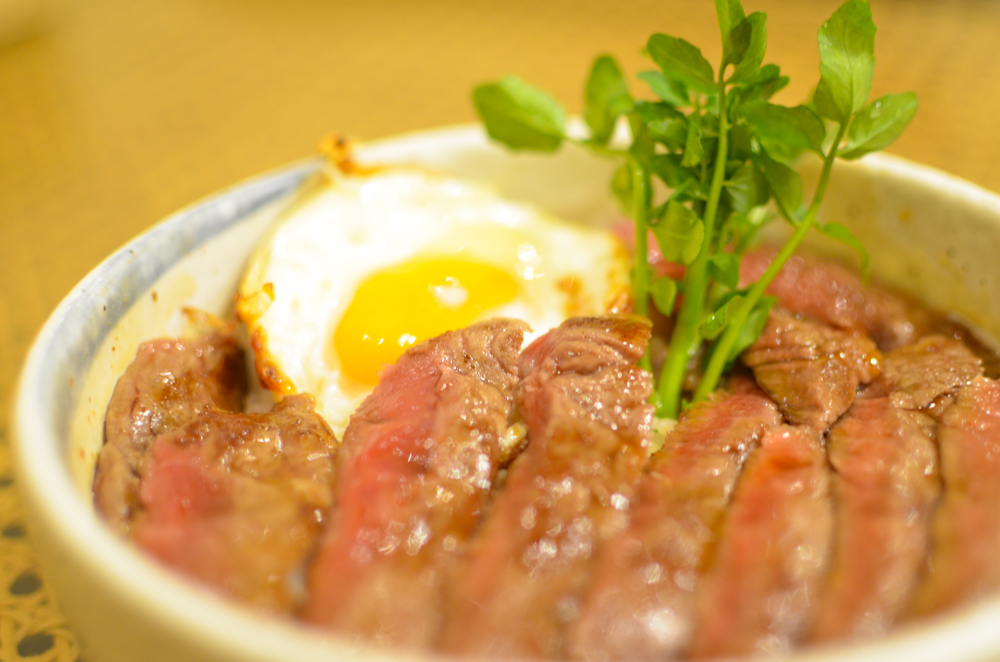 Beef Steak Rice Bowl -Patona-