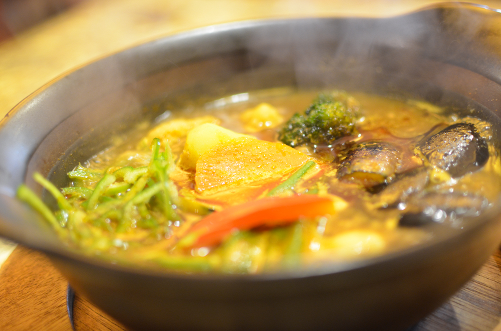 South india Soup Curry -Tenjiku Jr.-