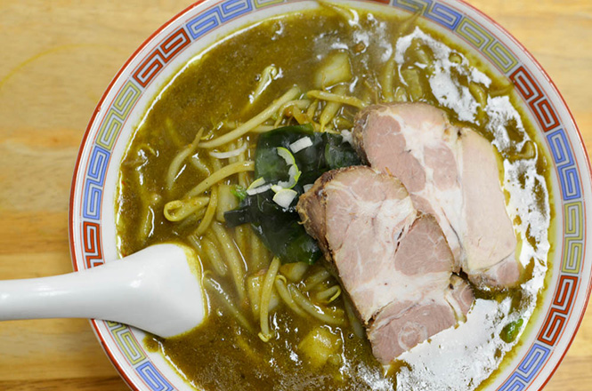 Curry Ramen -Aji-no-Daio in Muroran-