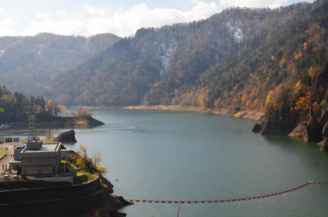 Hoheikyo Dam and Lake Jozan