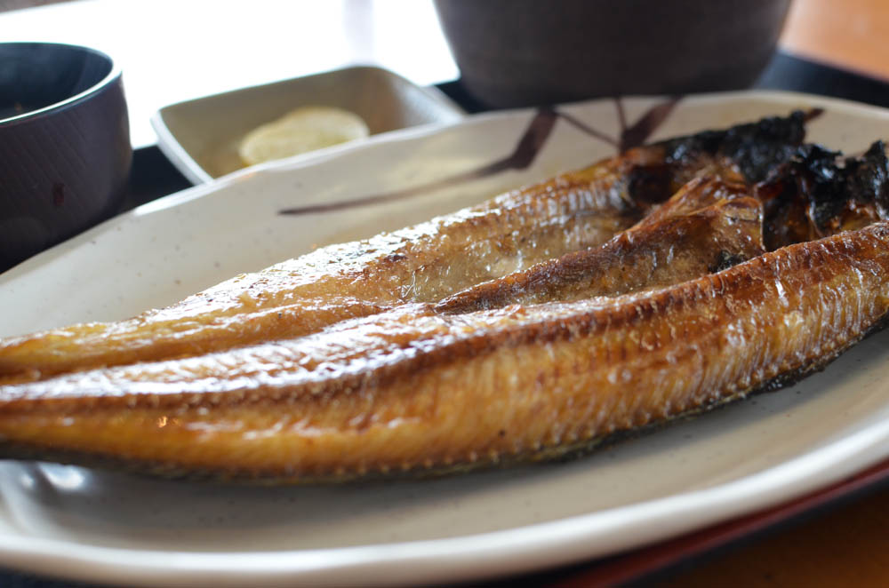 Atka mackerel set meal -Kakizaki store-