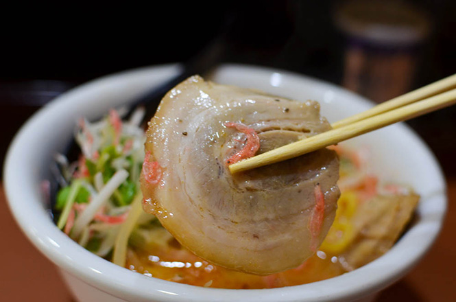 Shrimp Ramen -Men-no-hinauta in Sapporo-