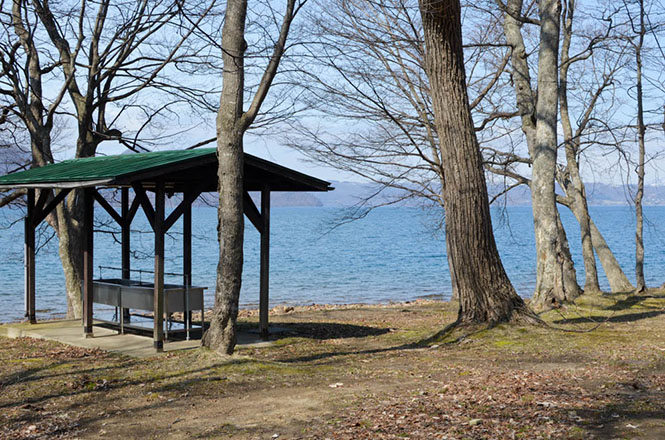 Lake Toya Nakatoya Camping Ground
