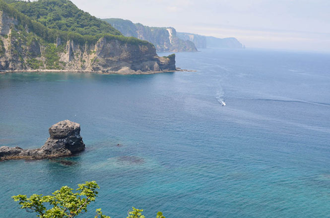 Cape Ogon in Shakotan Peninsula