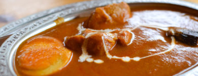 Indian curry -Hoheikyo Onsen Restaurant-