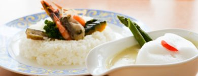 Okhotsk Monbetsu White Curry and Rice