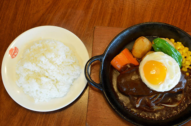 Hamburg Steak -Kerun in Mori-
