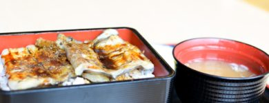 Grilled Pike Conger Sea Eel Rice Bowl