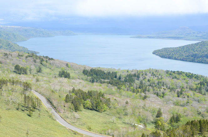 Bihoro Pass Lookout Lake Kussharo
