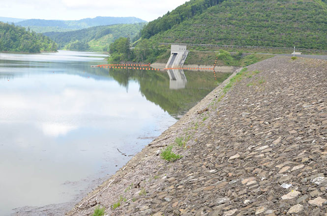 Lake Chibaberi and Rumoi Dam