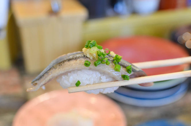 Conveyor Belt Sushi -Toriton in Kitami-