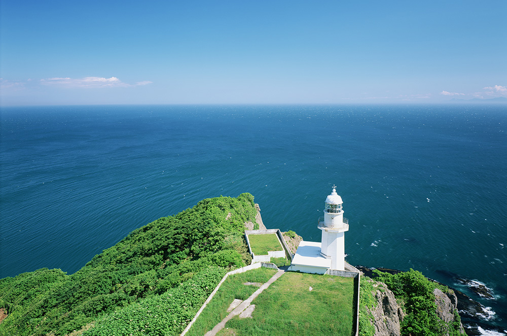 cape chikyu in Muroran