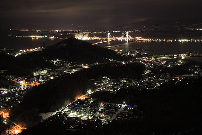 Muroran Night View