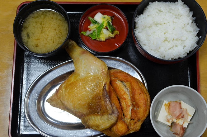 Fried Spring Chicken Combo -Naruto in Otaru-