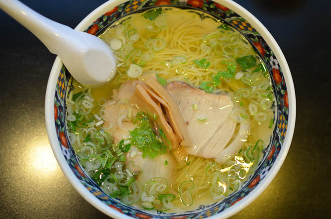 Salt Broth Ramen -Ajisai in Hakodate-