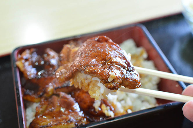 Pork Rice Bowl -Sakura-tei in Asahikawa-