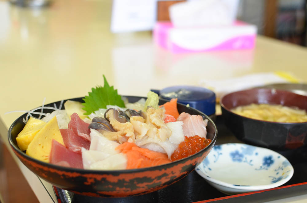Seafood Rice Bowl -Miuraya-