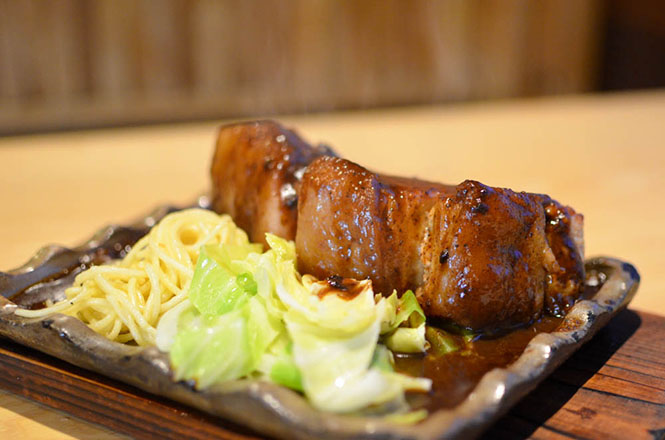 Pork Steak -Ukifune in Honbetsu-