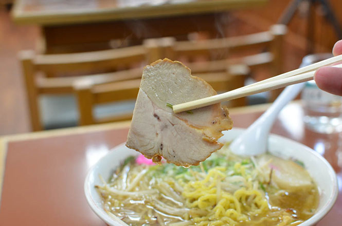 Rich Taste Salt Ramen with Fried Bean Sprouts -Aji no Gojuban in Tomakomai-