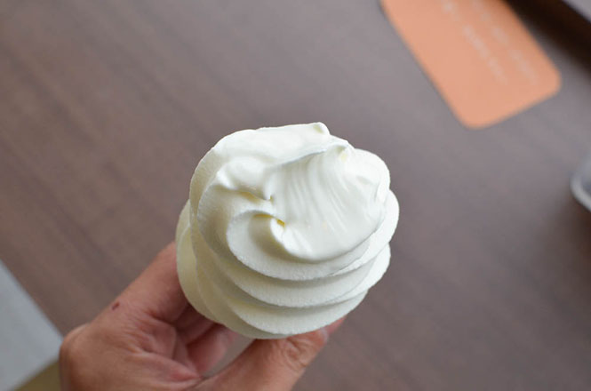 Soft Serve Ice Cream -Sugiura Bakery in Bibai-