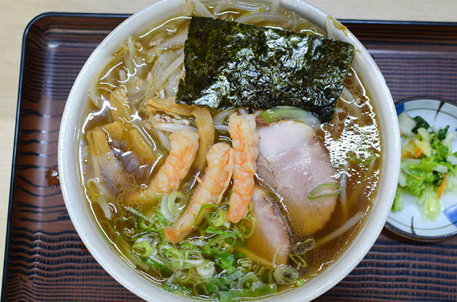 Rich Taste Shrimp Sauce Broth Ramen -Uocchi in Kushiro-