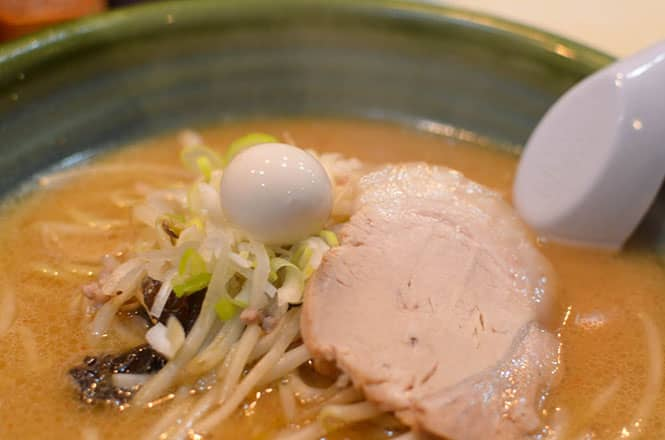 Miso Broth Ramen -Ebisuken in Hakodate-