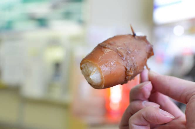 Squid Stuffed with Rice -Abe Shoten in Mori-