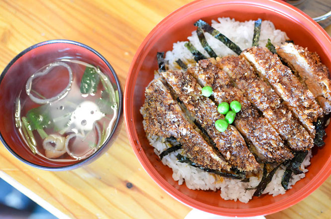 Kunneppu, Pork Cutlet Rice Bowl with Sauce -Fukuyoshi-