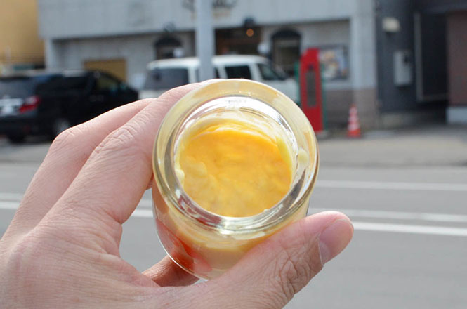 Asahikawa, Ohirune Pudding (Baby Chick's Lunchtime Nap Pudding) -Etude Western Confectionery Store-