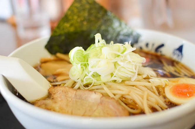 Ramen with Burnt Soy Sauce Soup -Noburin in Engaru-