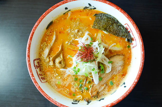 Spicy Hot Miso Broth Ramen -Ichimonji in Hakodate-