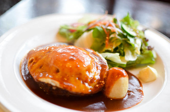 Hamburg Steak -Orchardgrass in Teshikaga-