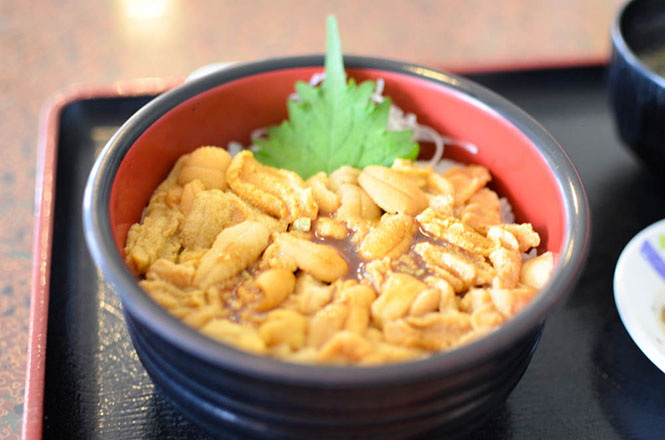 Sea Urchin Rice Bowl -Misaki in Shakotan--