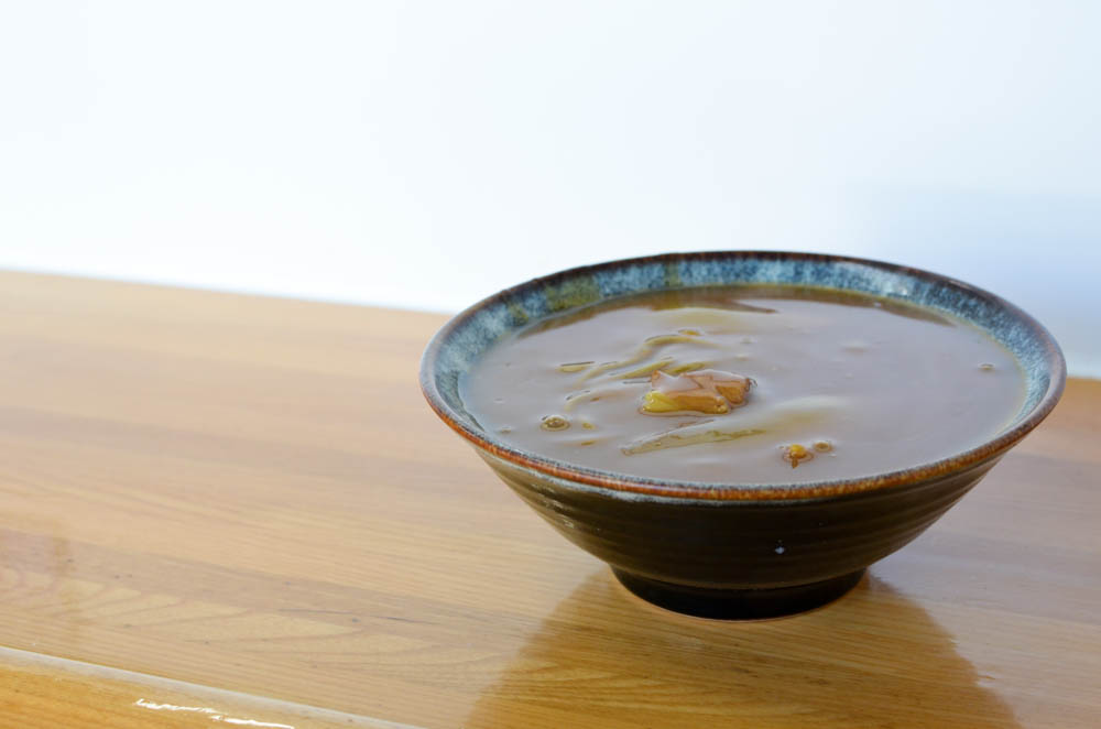 Buckwheat Noodles and Curry -Marukatsu in Takikawa-