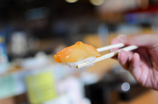 Conveyor Belt Sushi -Hanaichimonme in Wakkanai-