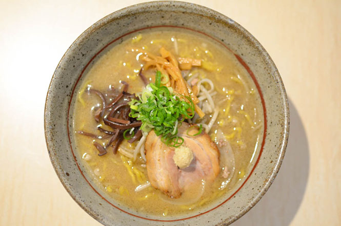 Miso Broth Ramen -Harukichi in Kitami-