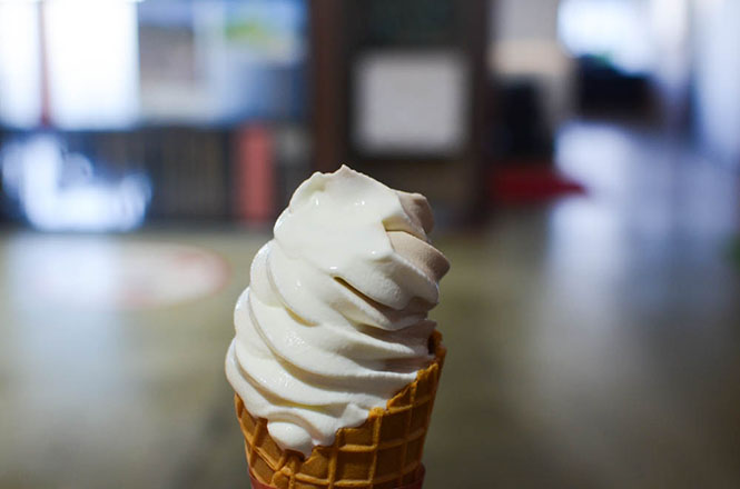 Soft Ice Cream -Wakkanai Milk-