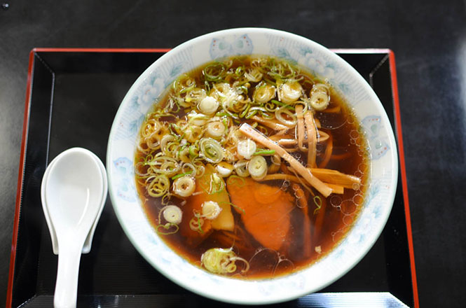 Soy Sauce Broth Ramen -Ginsui in Kushiro-