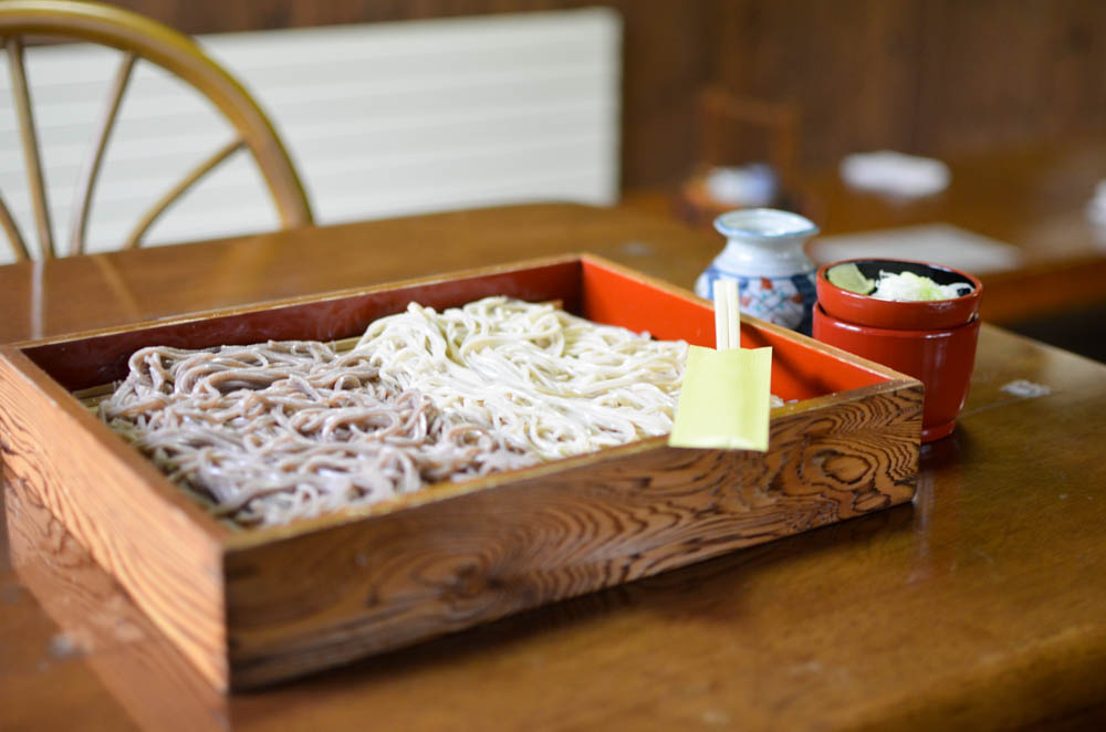 Buckwheat Noodles -Kyoan in Noboribetsu-