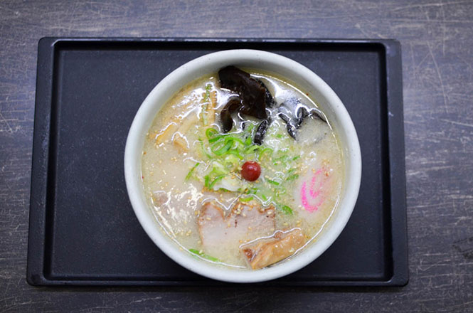 Salt Broth Ramen -Santoka Head Office in Asahikawa-