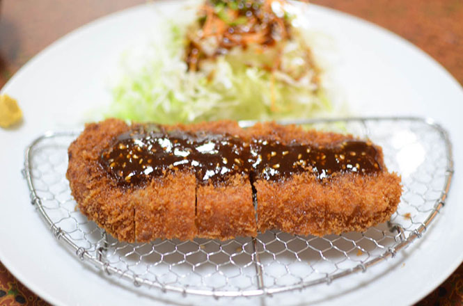 Breaded Pork Cutlet -Teppei in Tomakomai-