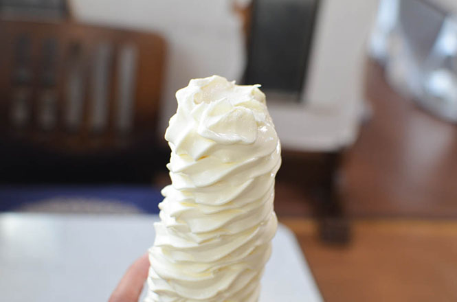 Soft Serve Ice Cream -Inoue Shokudo in Bifuka-