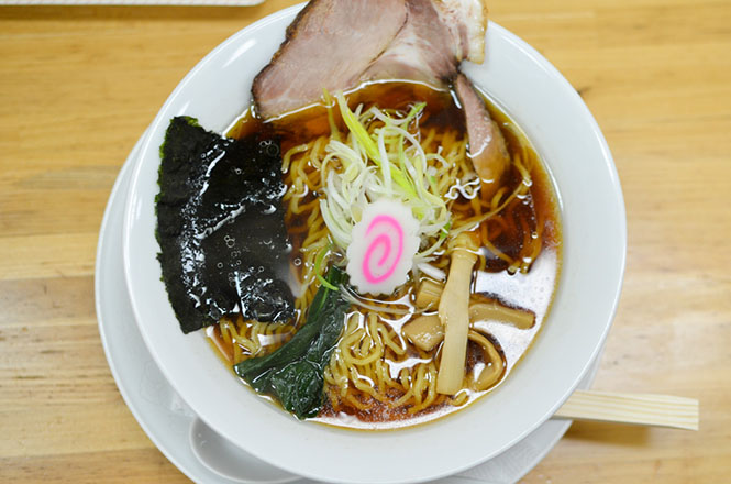 Soy Sauce Broth Ramen -Misuzu in Obihiro-