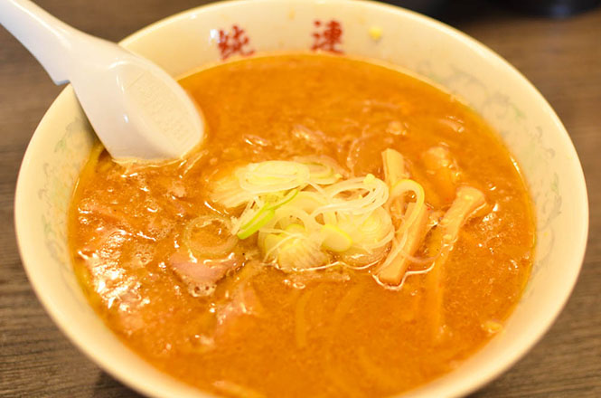 Miso Broth Ramen -Junren Head Office in Sapporo-