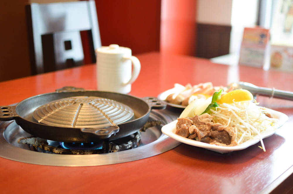 Mongolian Barbecue -Matsuo Jingisukan Takikawa Head Office-
