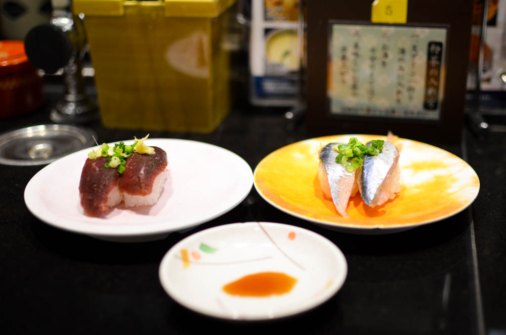 Conveyor Belt Sushi -Nagoyakatei Head Office in Kushiro-