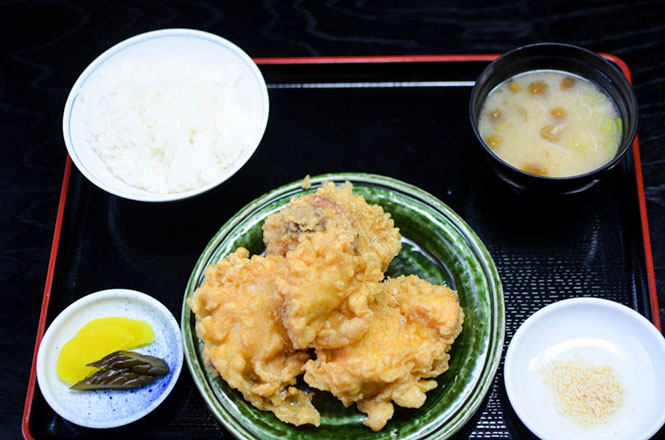 Chicken Dish -Onoki in Asahikawa-